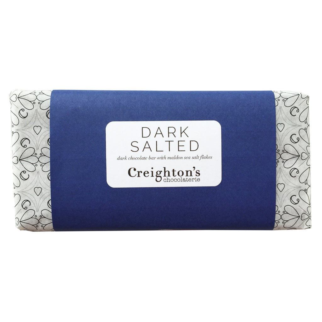 Dark Sea Salted Chocolate Bar