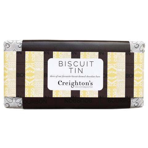 Biscuit Tin Chocolate Bar Gift Set