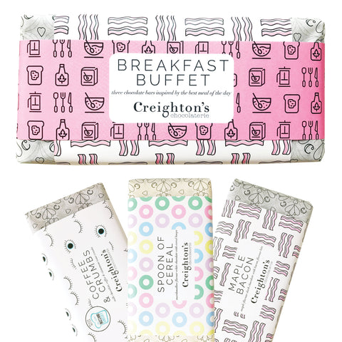 Breakfast Buffet Chocolate Bar Gift Set