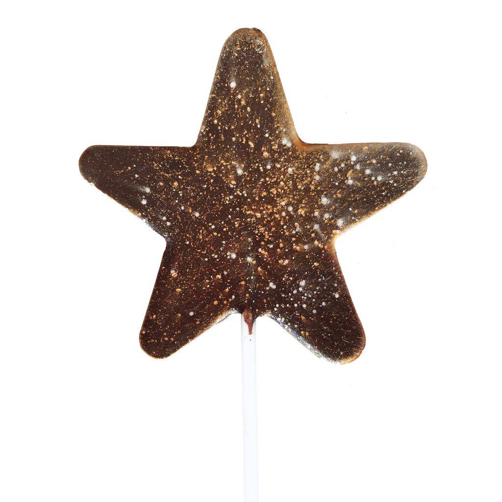 Celestial Star Chocolate Lollipop