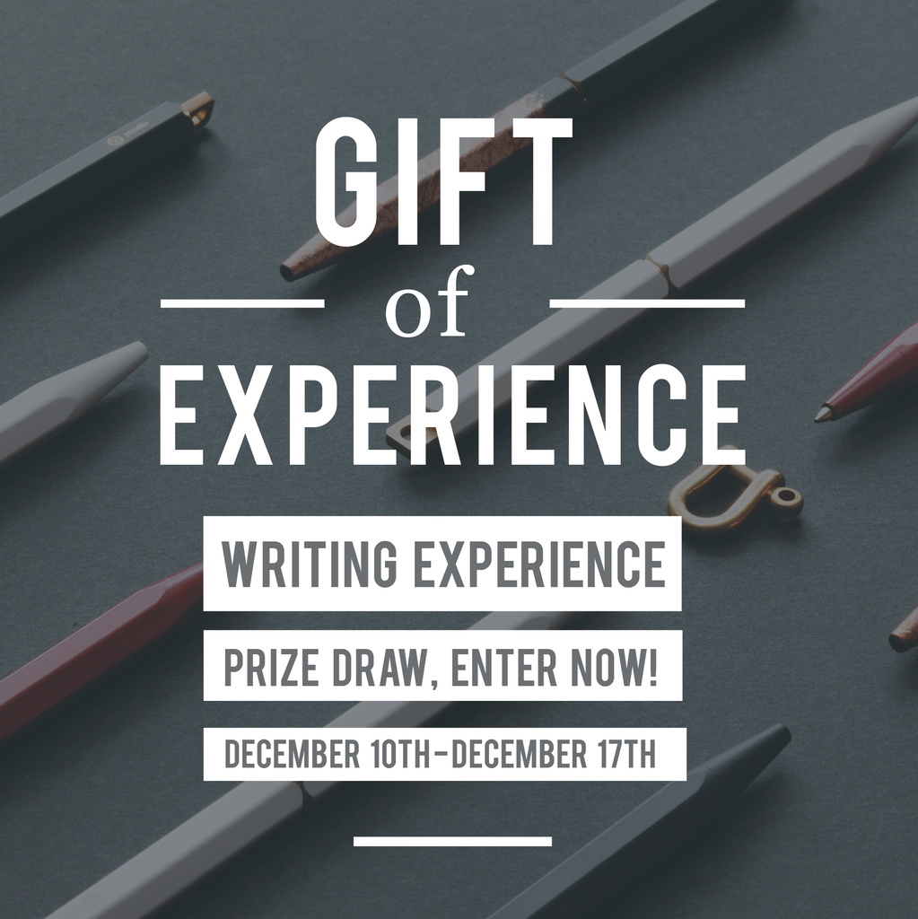Gift of Writing Experience Giveaway