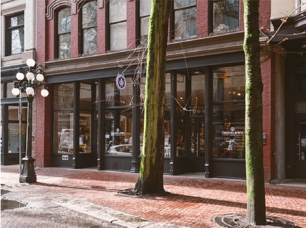 The original Orling and Wu Store in Gastown