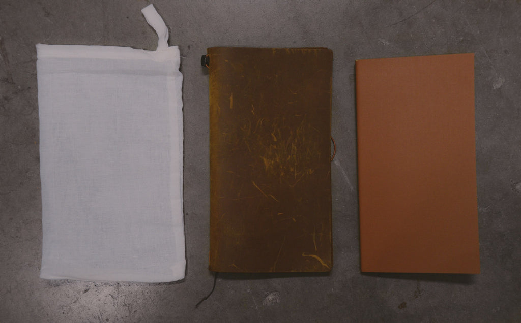 Midori Traveler's notebook Leather cover