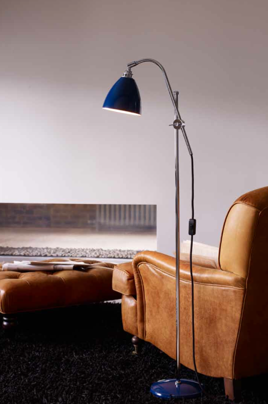 BTC Task Floor Lamp presented by  Örling & Wu in Gastown, Vancouver. Original BTC Lighting!
