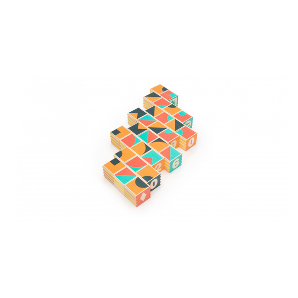 Groovie Math & Patterning Wooden Blocks