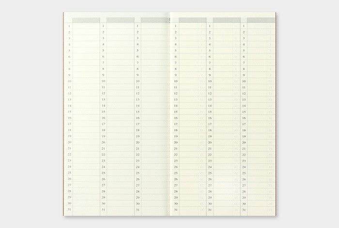 Free Weekly Diary Refill