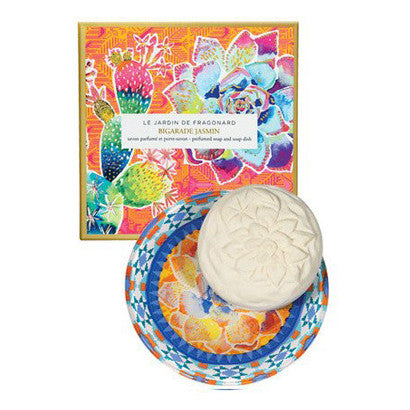 Perfumed Soap and Soap Dish - Bigarade Jasmin