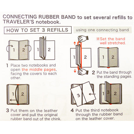 Connecting Rubber Bands (Passport Size)