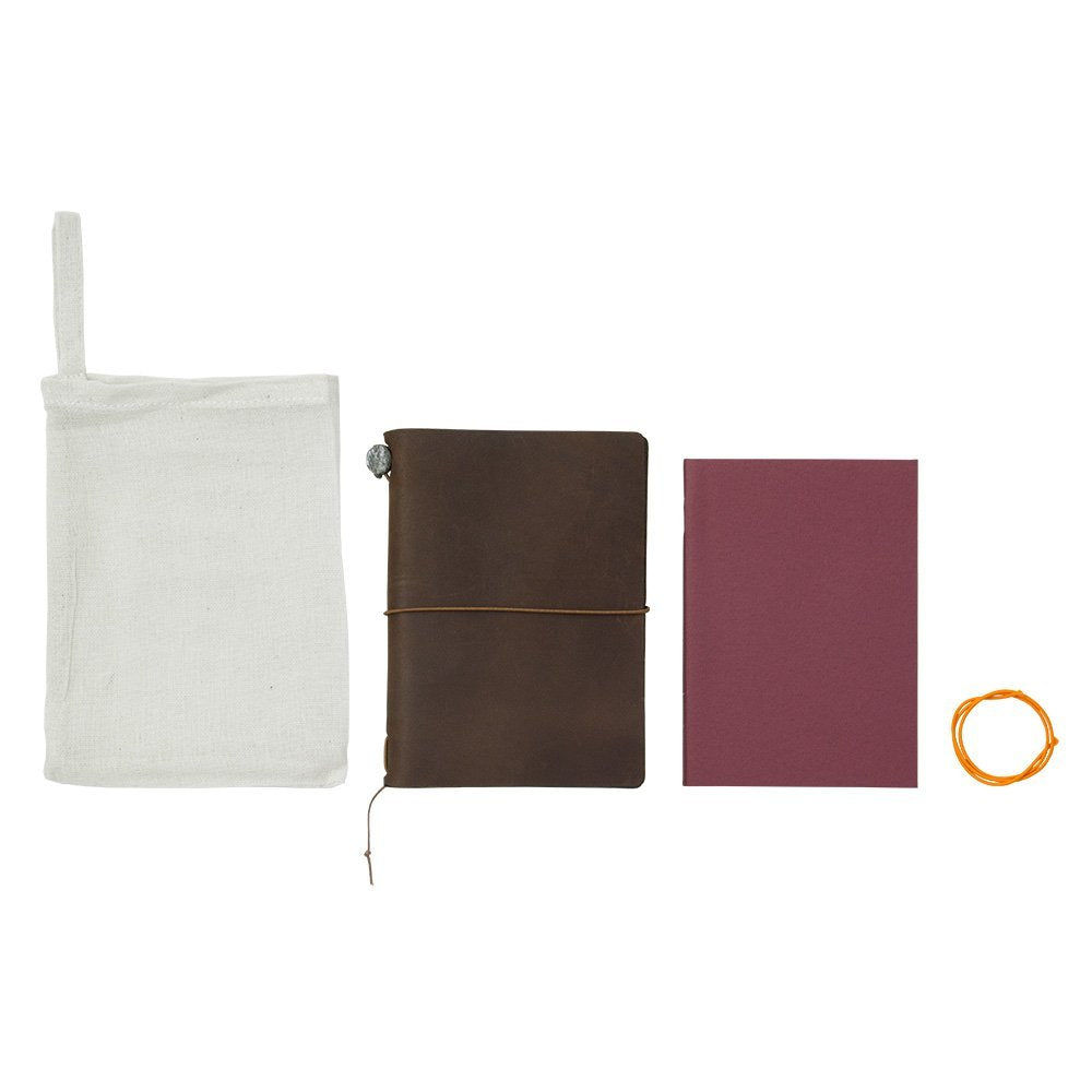 Traveler's Passport Notebook, Leather Cover