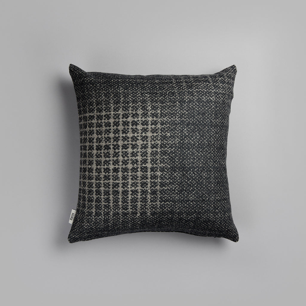 Bernadette Cushion - Dark Grey/Light Grey