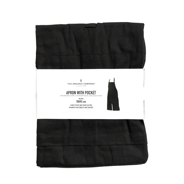 Apron With Pocket and Slit