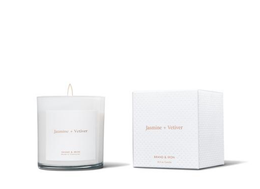 Brand & Iron Jasmine Vetiver Candle