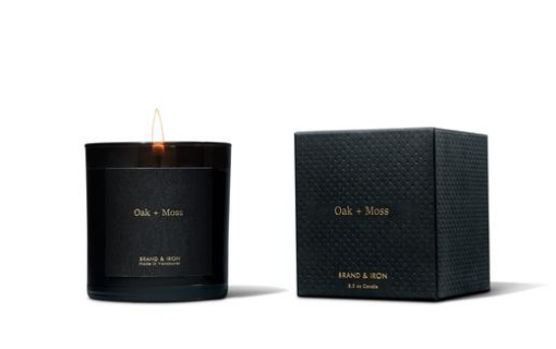 Brand & Iron Oak Moss Candle