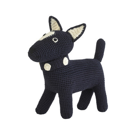 Anne-Claire Petit Handmade Terrier in Navy