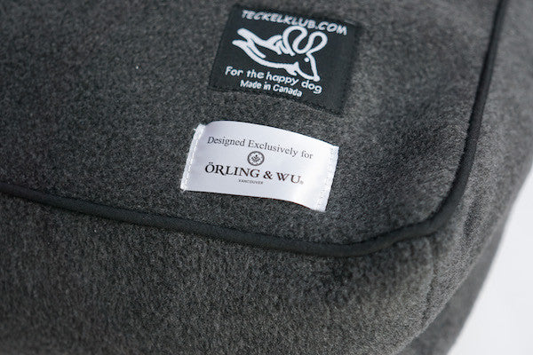 Teckelklub X OW Collaboration Custom Dog Bed