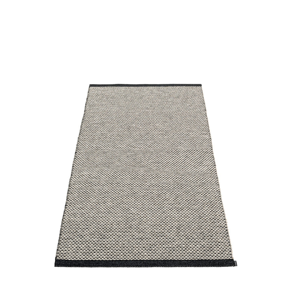 Pappelina Swedish Rug in Effi Black