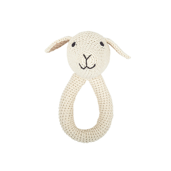 Crochet Lamb Rattle