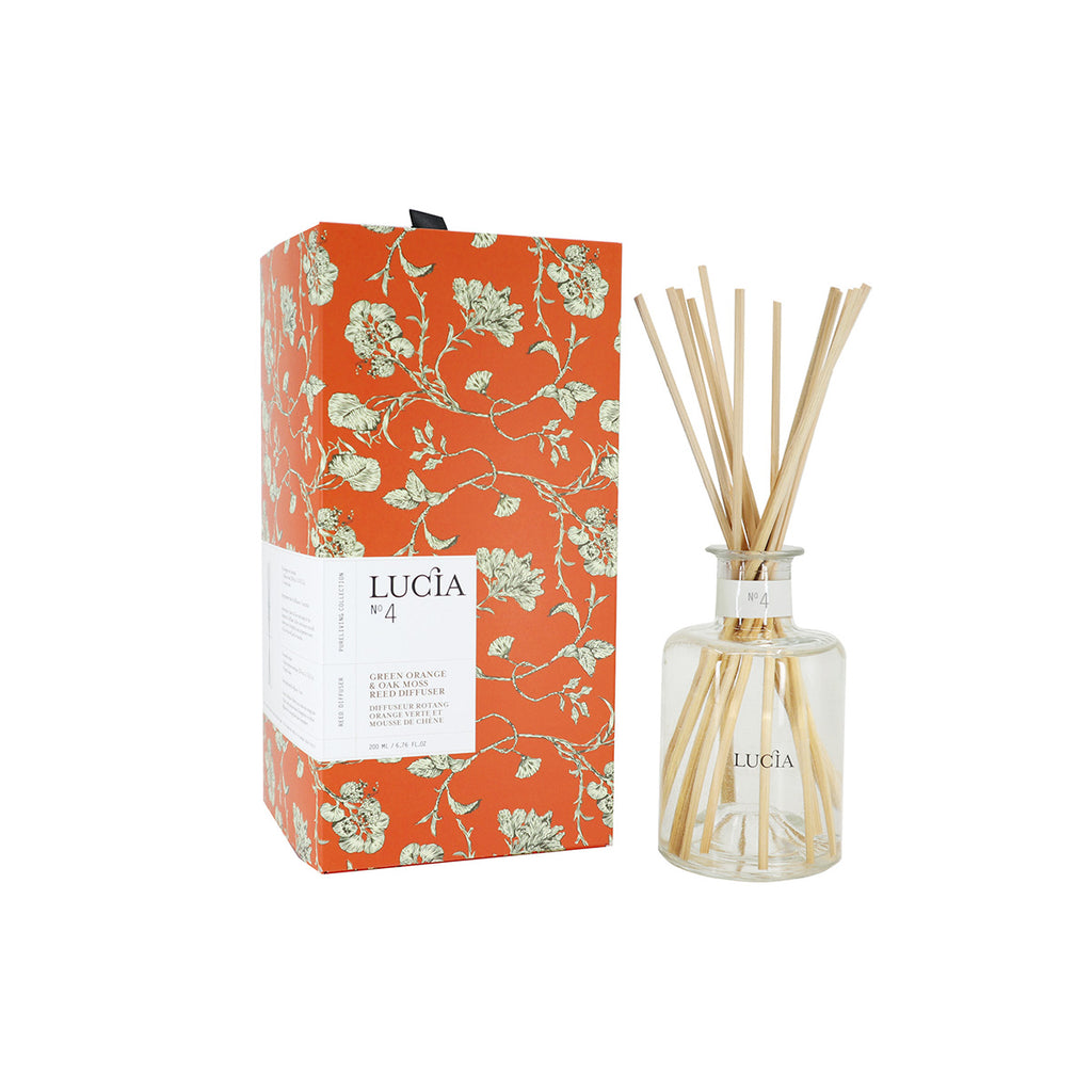 Reed Diffuser – Green Orange & Oakmoss