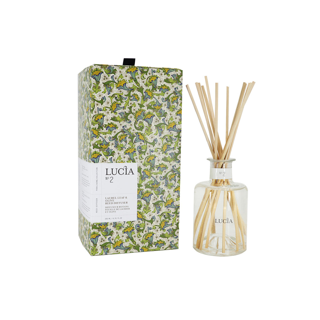 Reed Diffuser –  Laurel Leaf & Olive