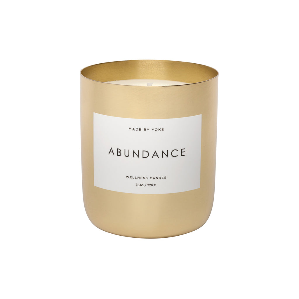 Made by Yoke Abundance Wellness Candle