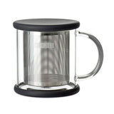 Forlife Lucent Glass Brew-in-Mug with Basket Infuser
