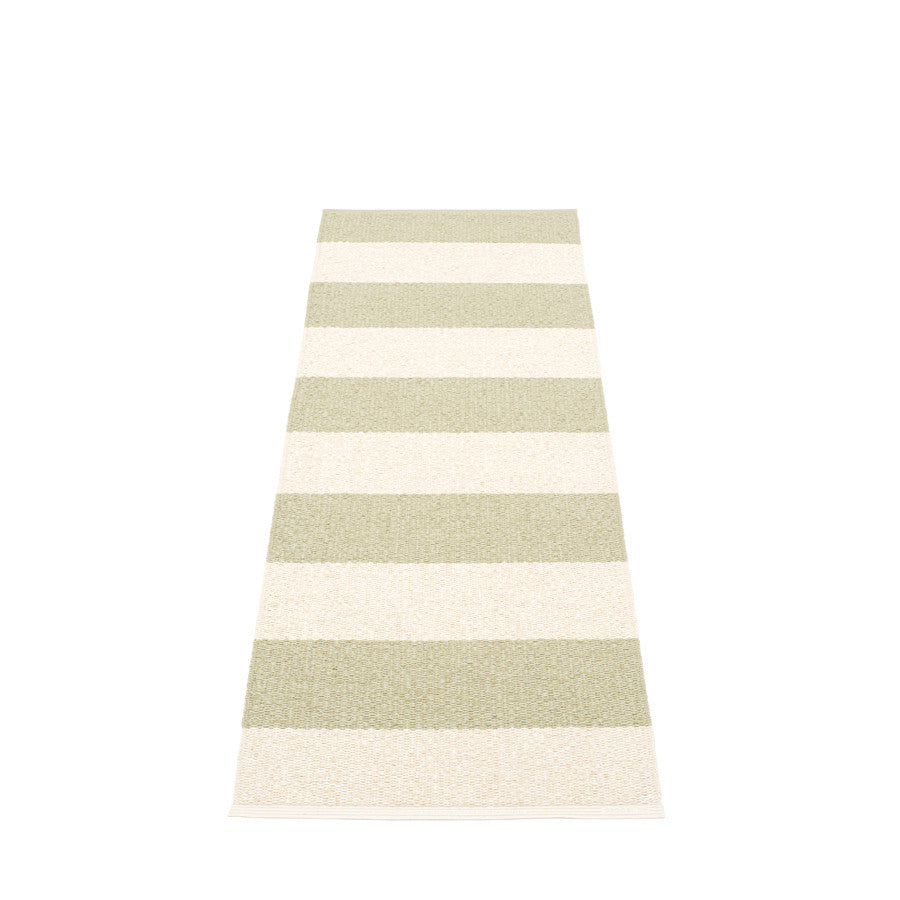 Pappelina Swedish Rug in Bob Seagrass