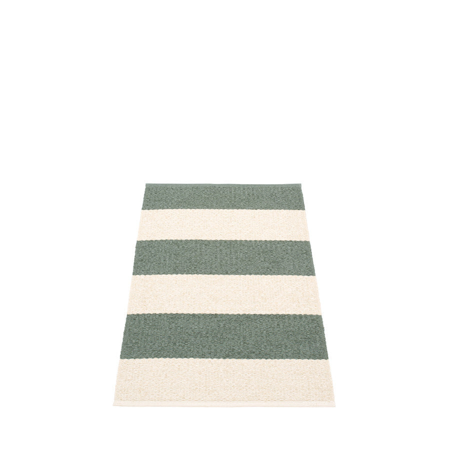 Pappelina Swedish Rug in Bob Army