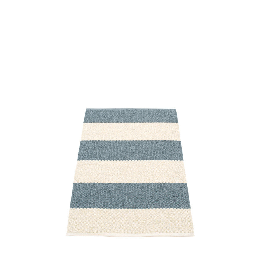 Pappelina Swedish Rug in Bob Storm