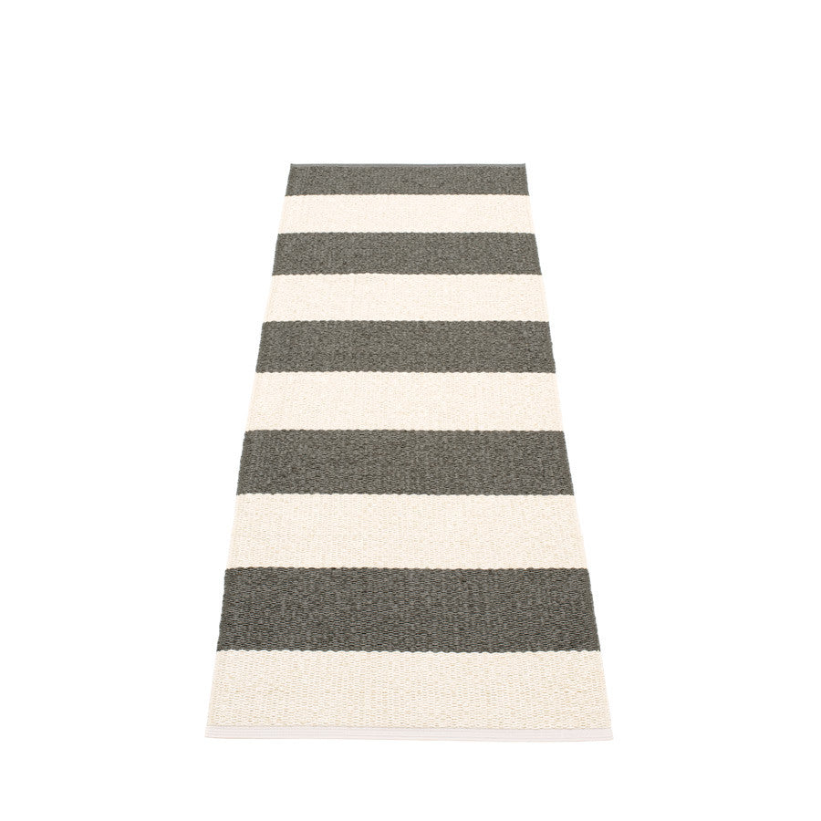 Pappelina Swedish Rug in Bob Charcoal