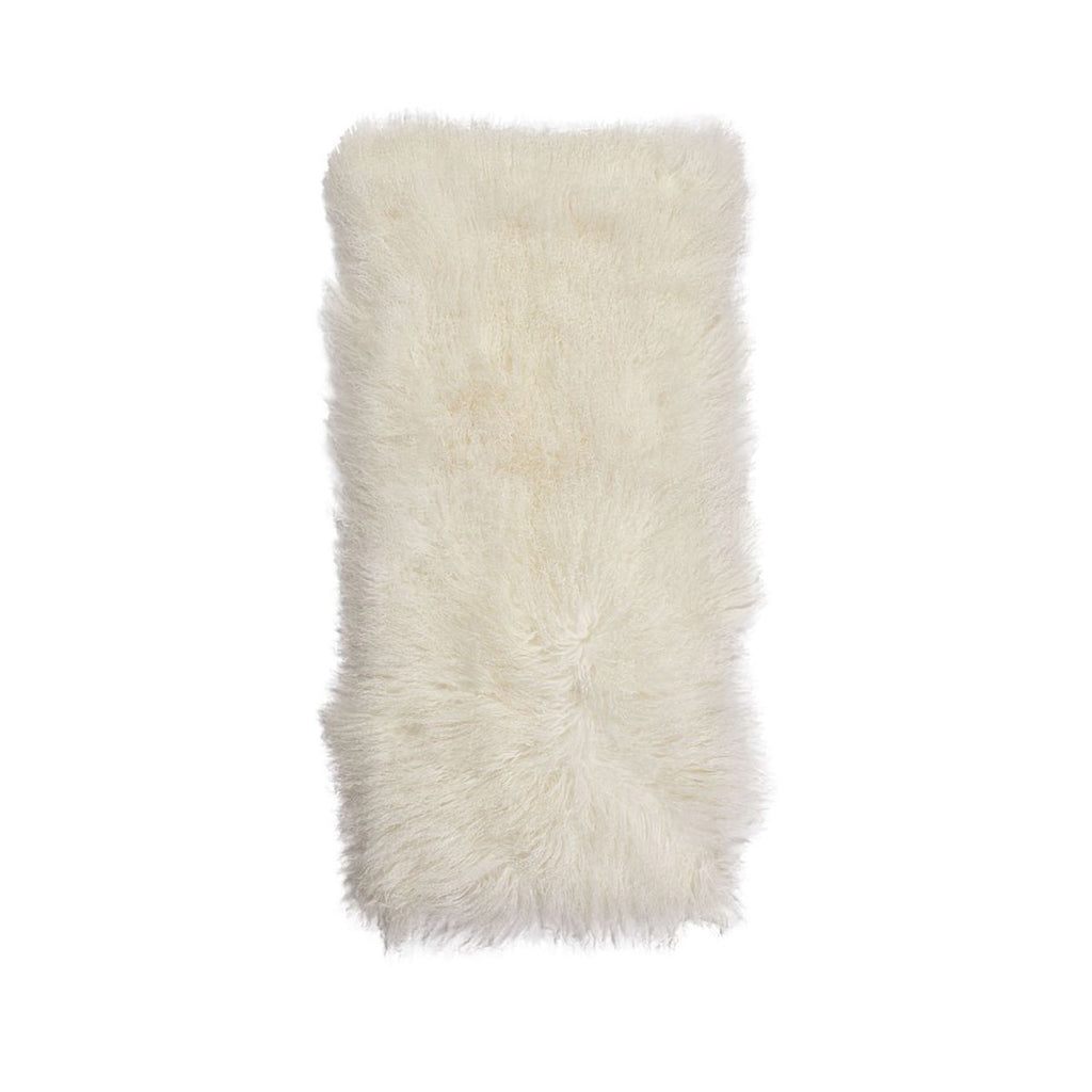 Tibetan Sheepskin Plaid