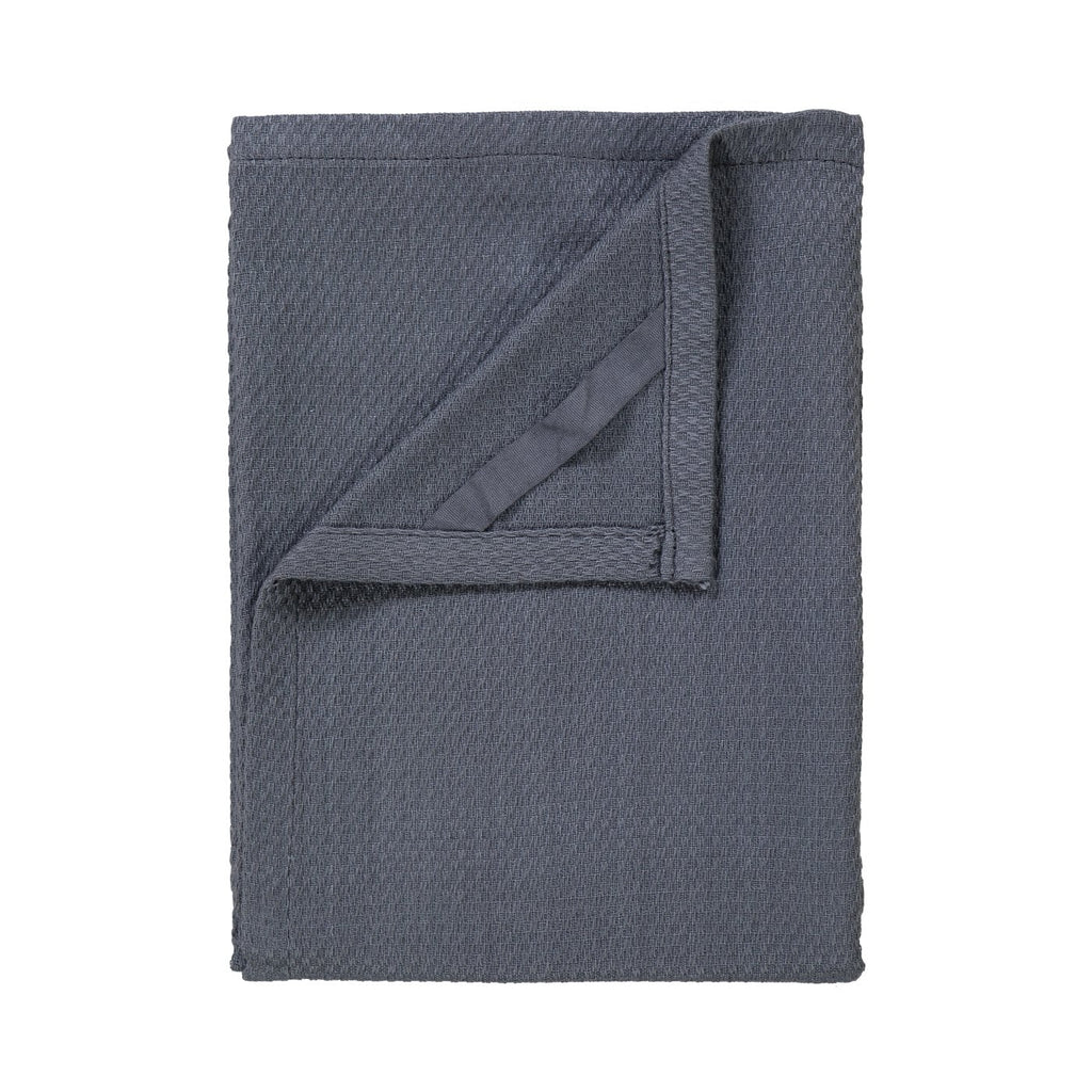 Blomus Quad Tea Towel in Gunmetal