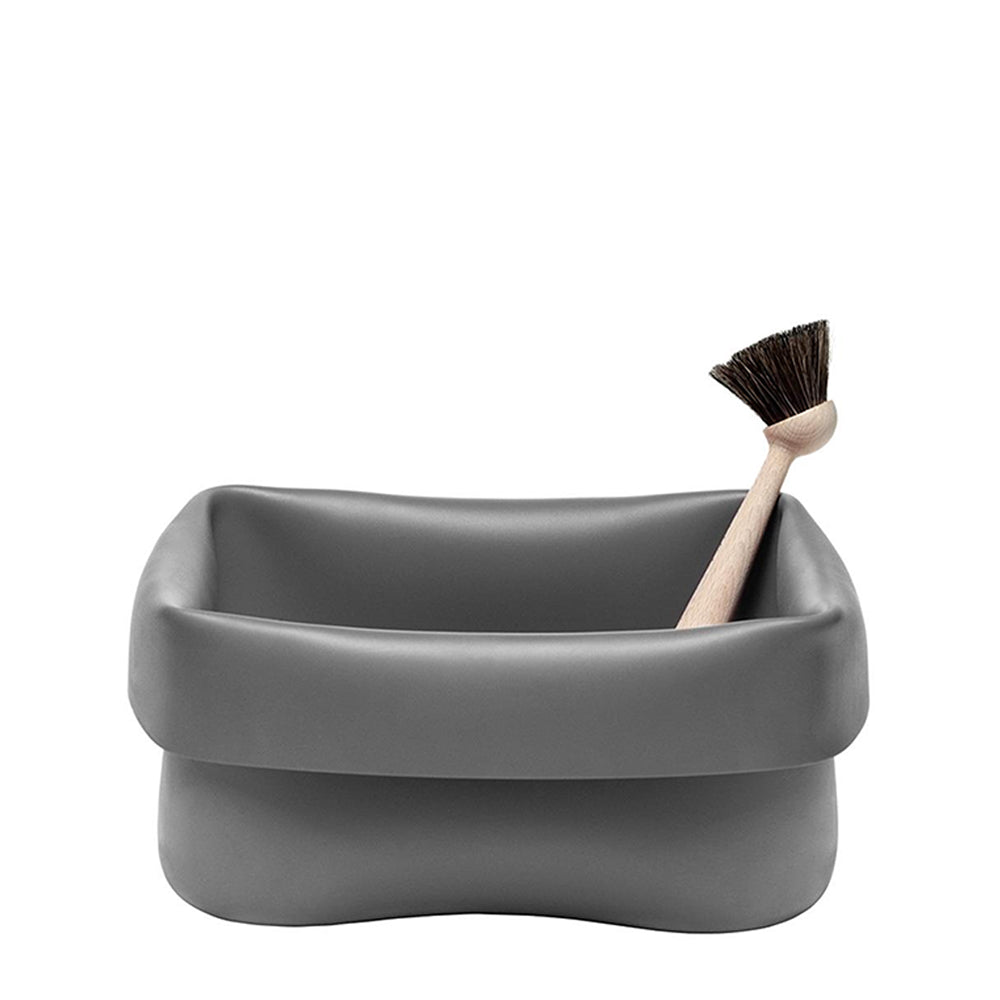 Washing-Up Bowl & Brush