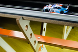 The Club Series Raceway — 6' x 16' modular analog wooden, slot car track system