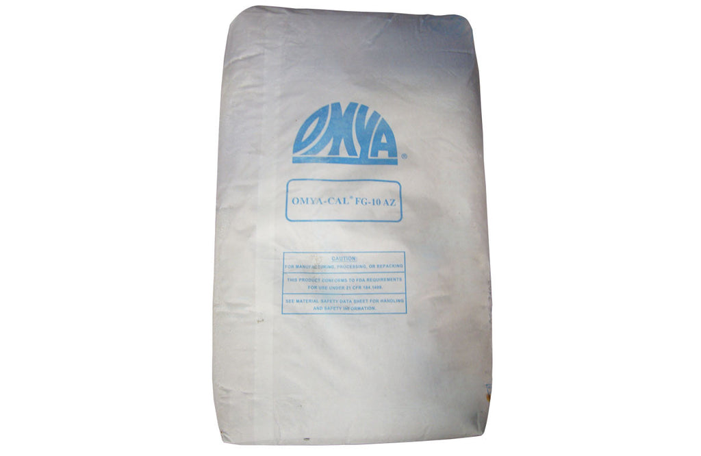 Calcium Carbonate [CaCO3] [CAS_1317-65-3] Food Grade Kosher 94+%, White Powder/ Colorless Crystal (50 Lbs Bag)