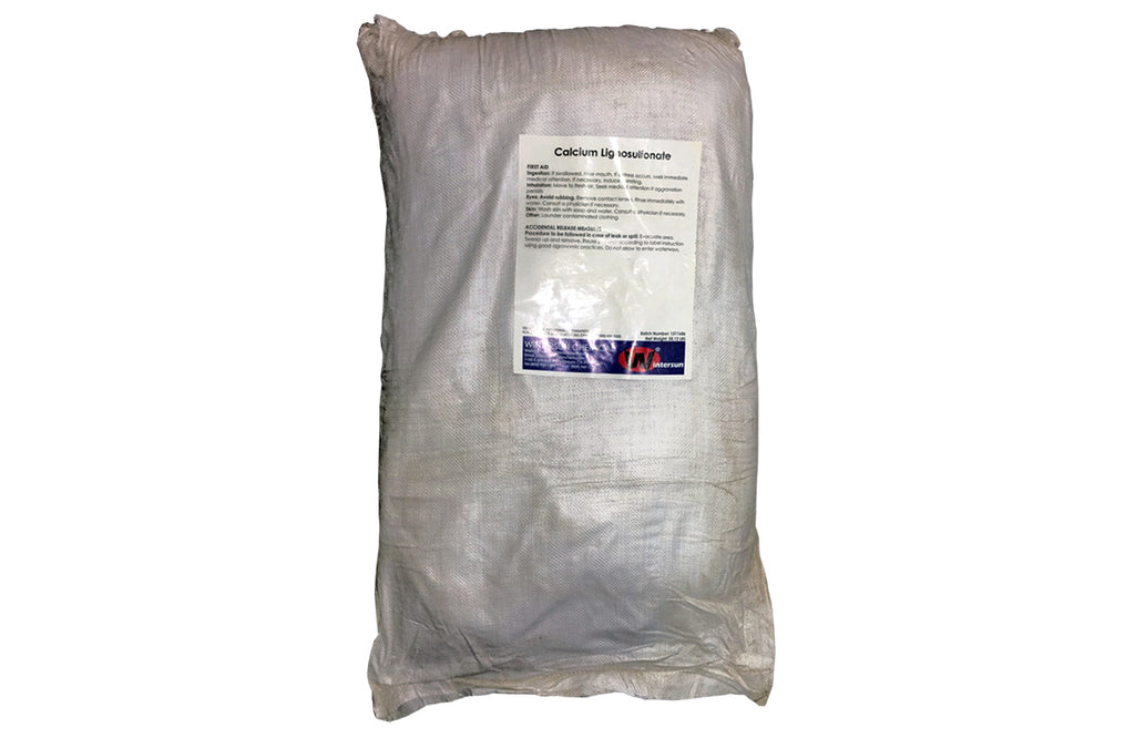 Calcium Lignosulfonate [8061-52-7] 94+% Light Yellow Powder (55.12 Lb Bag)