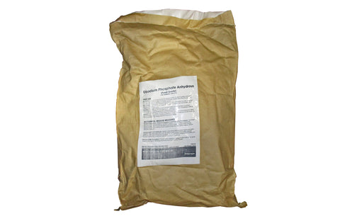 Disodium Phosphate Anhydrous [Na2HPO4] [CAS_7558-79-4] 98+%, Food Grade, White Powder (50 LB Bag)