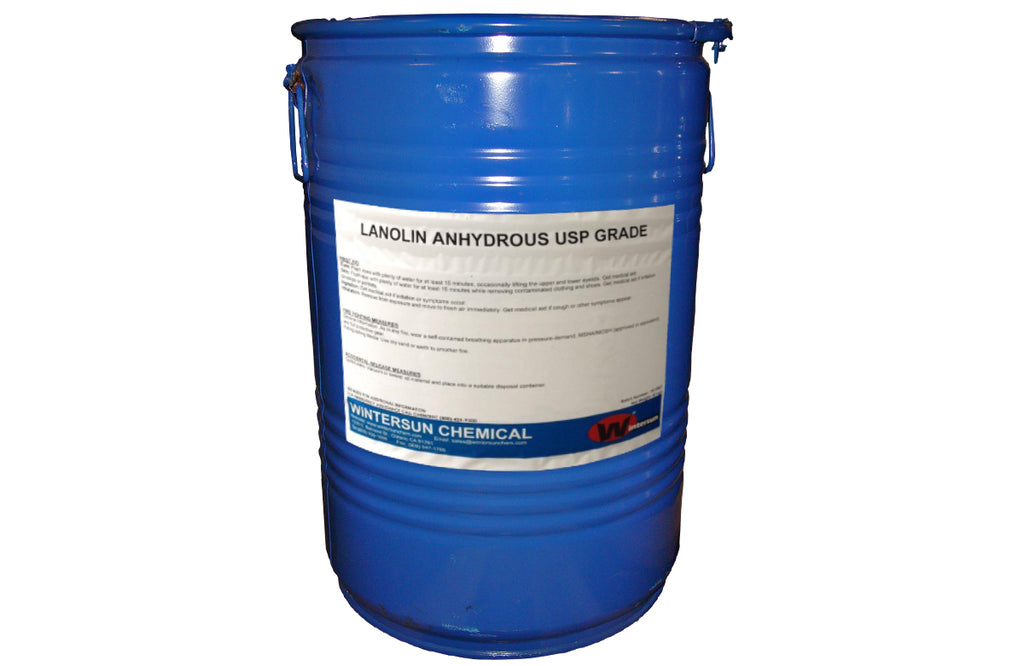 Lanolin [CAS_8006-54-0] Anhydrous USP Yellow Ointment, 110.23 LB Drum