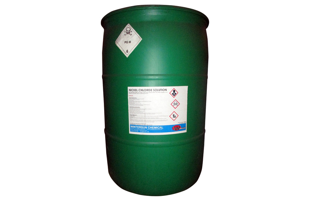 Nickel Chloride Solution 615.08 LB (279 KG)  Drum