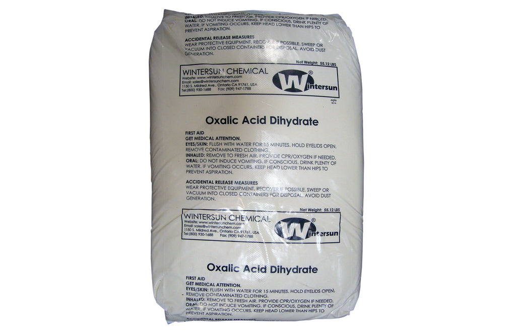 Oxalic Acid Dihydrate [H2C2O4 2H2O ] [CAS_6153-56-6] 99.6+% Fine White Crystal/ Powder (55.12 Lb Bag)