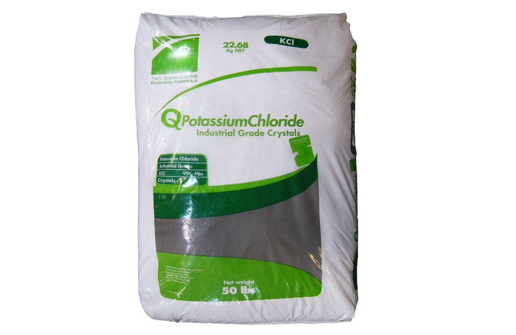 Potassium Chloride SQM  95+% [KCl] [CAS_7447-40-7] Industrial Grade, White Crystals (50 Lb Bag)