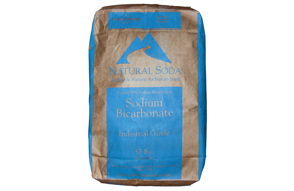 Sodium Bicarbonate [NaHCO3] [CAS_144-55-8] 99+% NSF Industrial Grade, White Powder (50 Lb Bag)