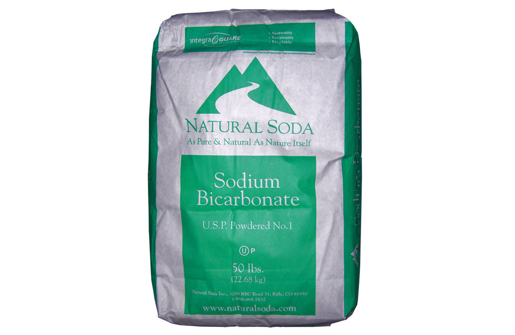 Sodium Bicarbonate [NaHCO3] [CAS_144-55-8] 99+% USP/ FCC Grade, White Powder ( 50 Lb Bag)
