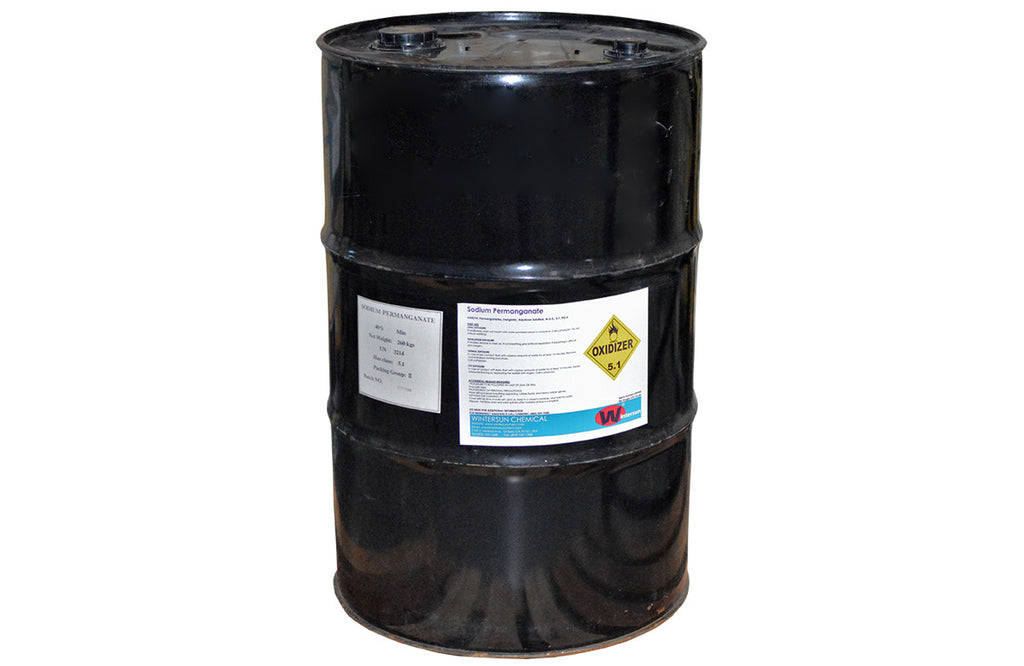 Sodium Permanganate 40% [NaMnO4] [CAS_10101-50-5]NSF Certified (570 Lb Drum)