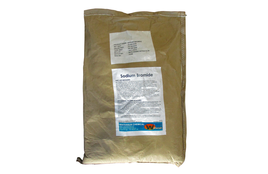 Sodium Bromide [NaBr] [CAS_7647-15-6] 99% Technical Grade, White Powder (55.12 Lb Bag)