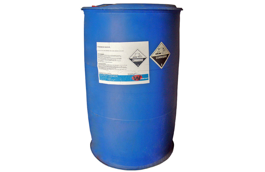 Titanium (III) Sulfate [Ti2(SO4)3] [CAS_19495-80-8] Purple Liquid (551.12 Lb Drum)