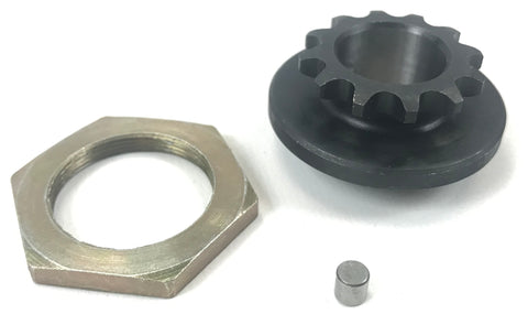 Rotax Max Clutch Sprocket with Pin and Nut