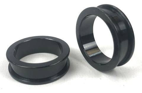 Pair of 25mm x 10mm Stub Axle Spacers