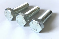 Hex M8 30mm Axle / Bearing Carrier Bolts