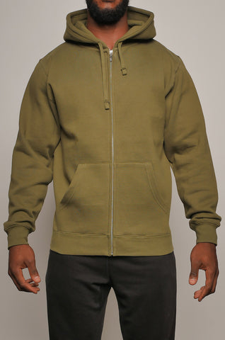 CMHZ-001 Men's 16 oz Full Zip Hoodie