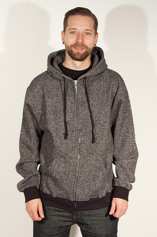 Canso Men's Zip-Up Hoodie